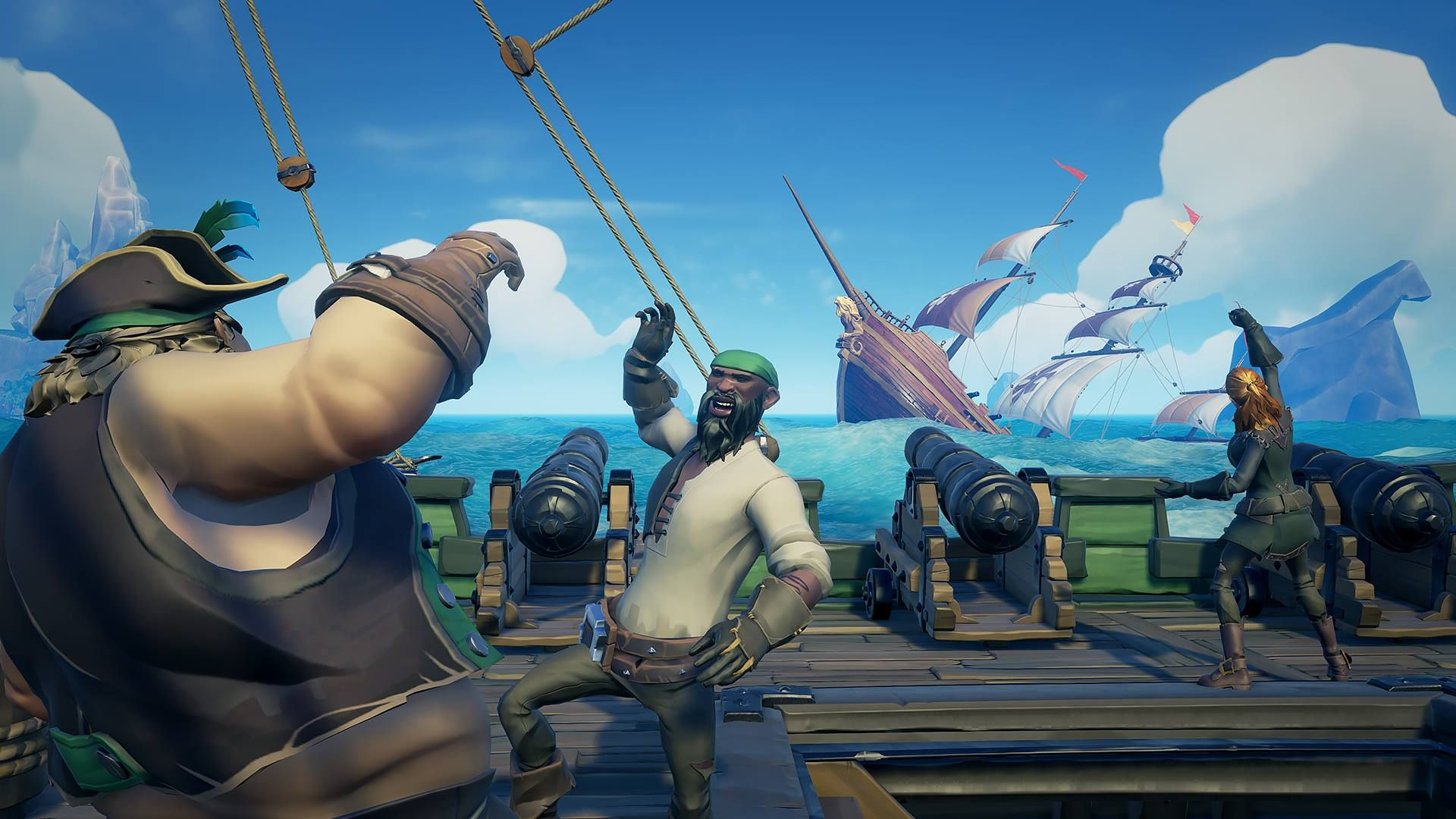 Sea Of Thieves 1 10 Patch Notes Include Hungering Deep Features