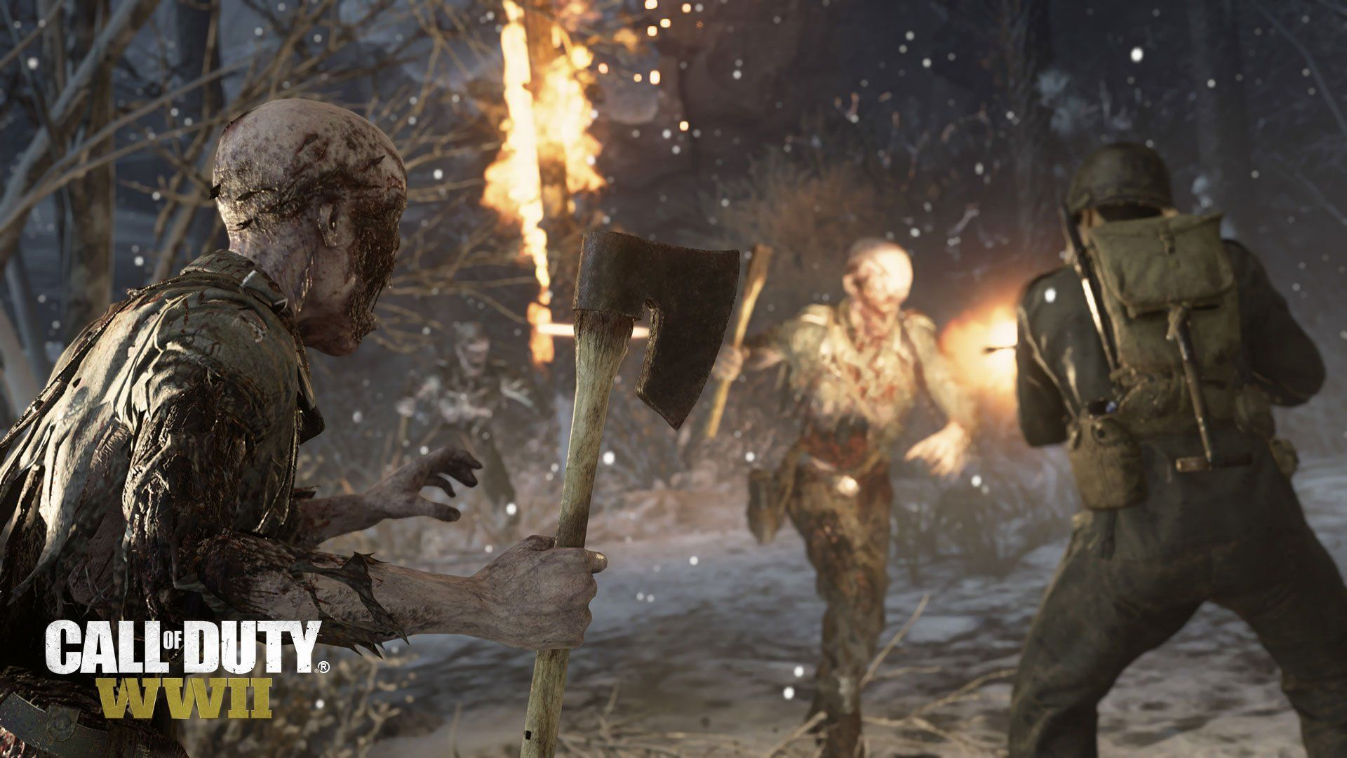 Call Of Duty Wwii Update 1 15 Adds Attack Of Undead Event