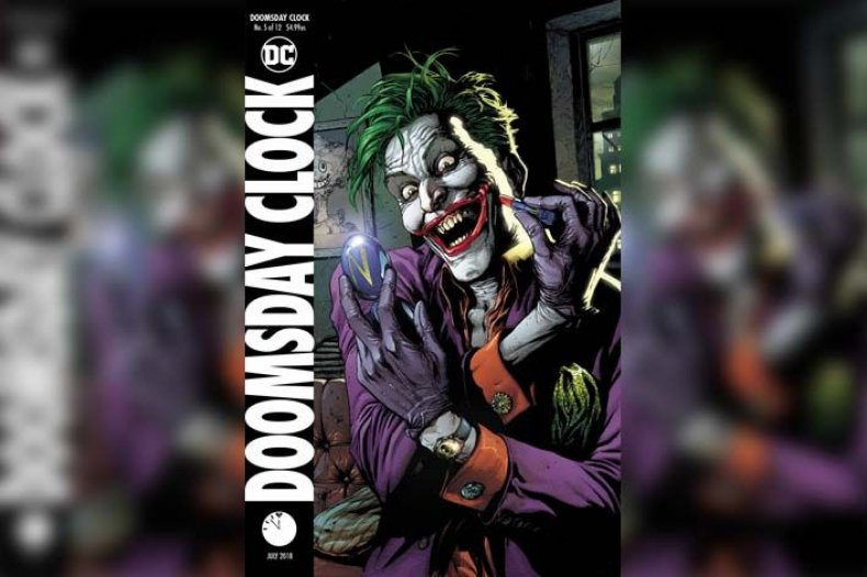 doomsday clock #5 cover geoff johns gary frank