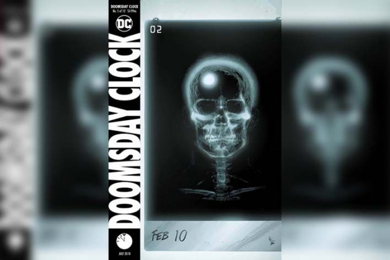 doomsday clock cover #5 geoff johns gary frank