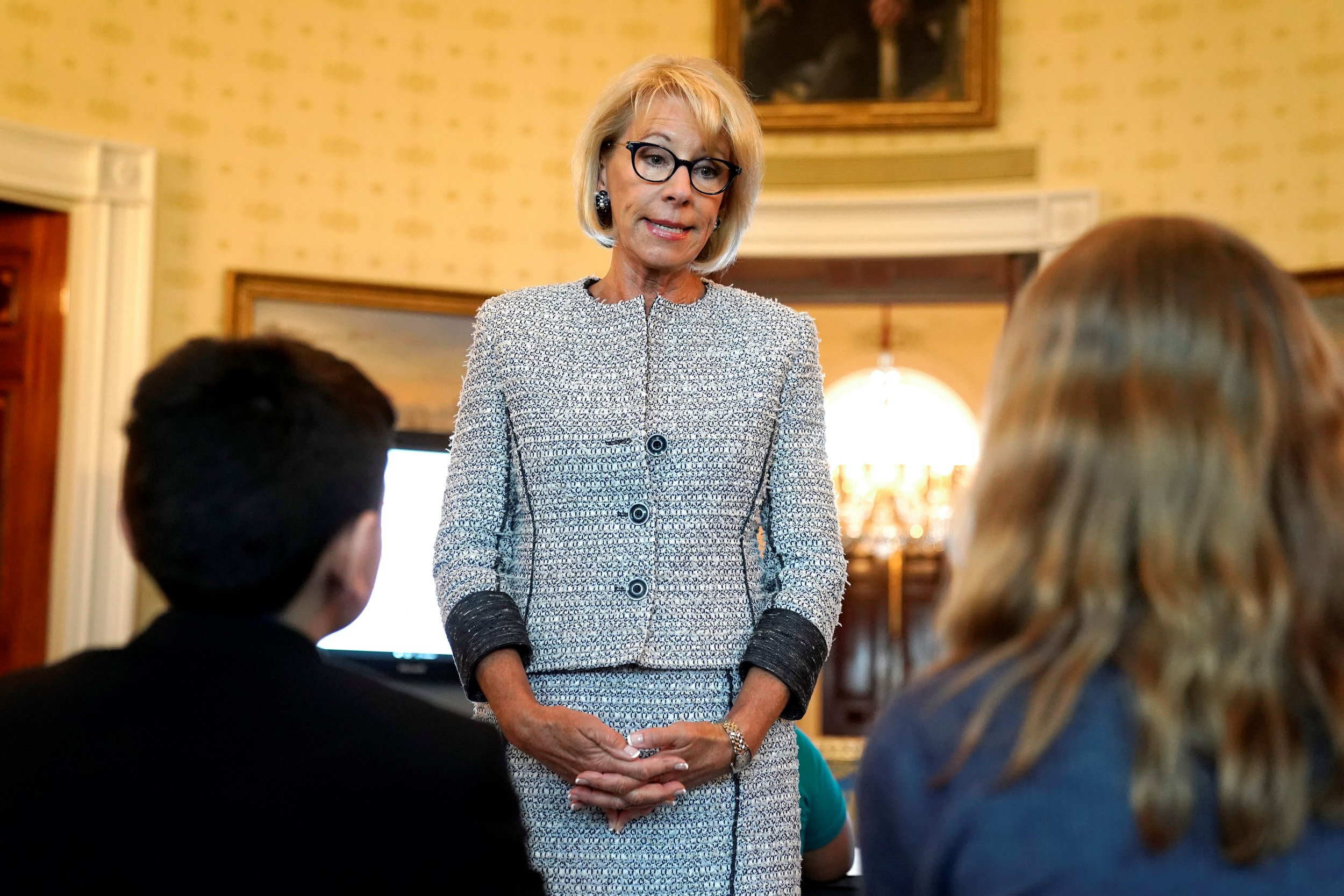 The DeVos family yacht that made the news doesn't fly under the American flag