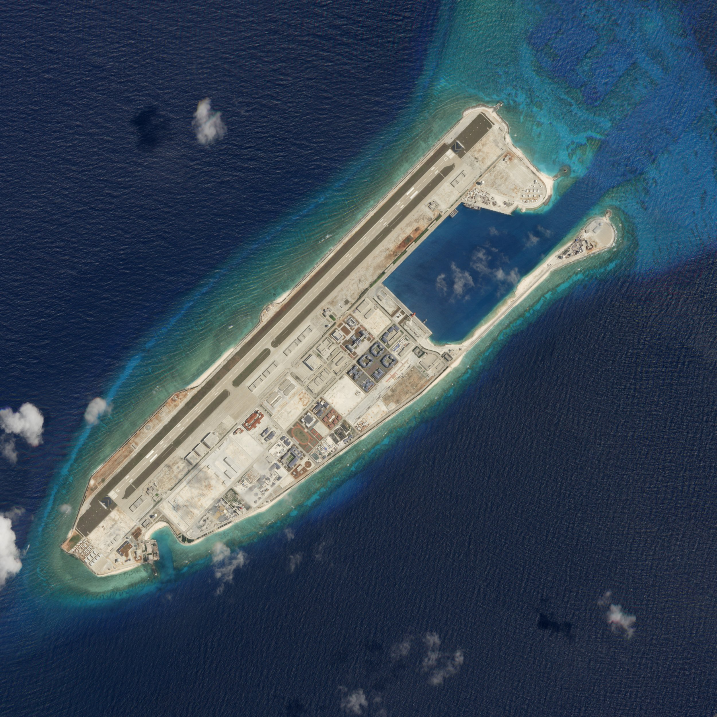 U.S. Could 'Take Down' Man-made Islands In South China Sea