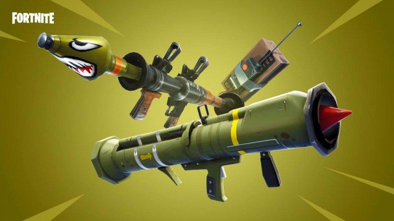 Fortnite Weapons