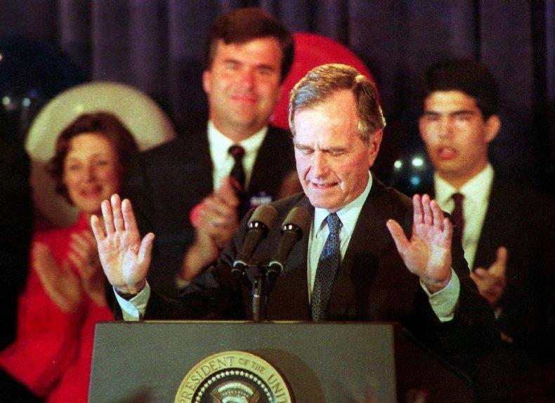 33. George H.W. Bush