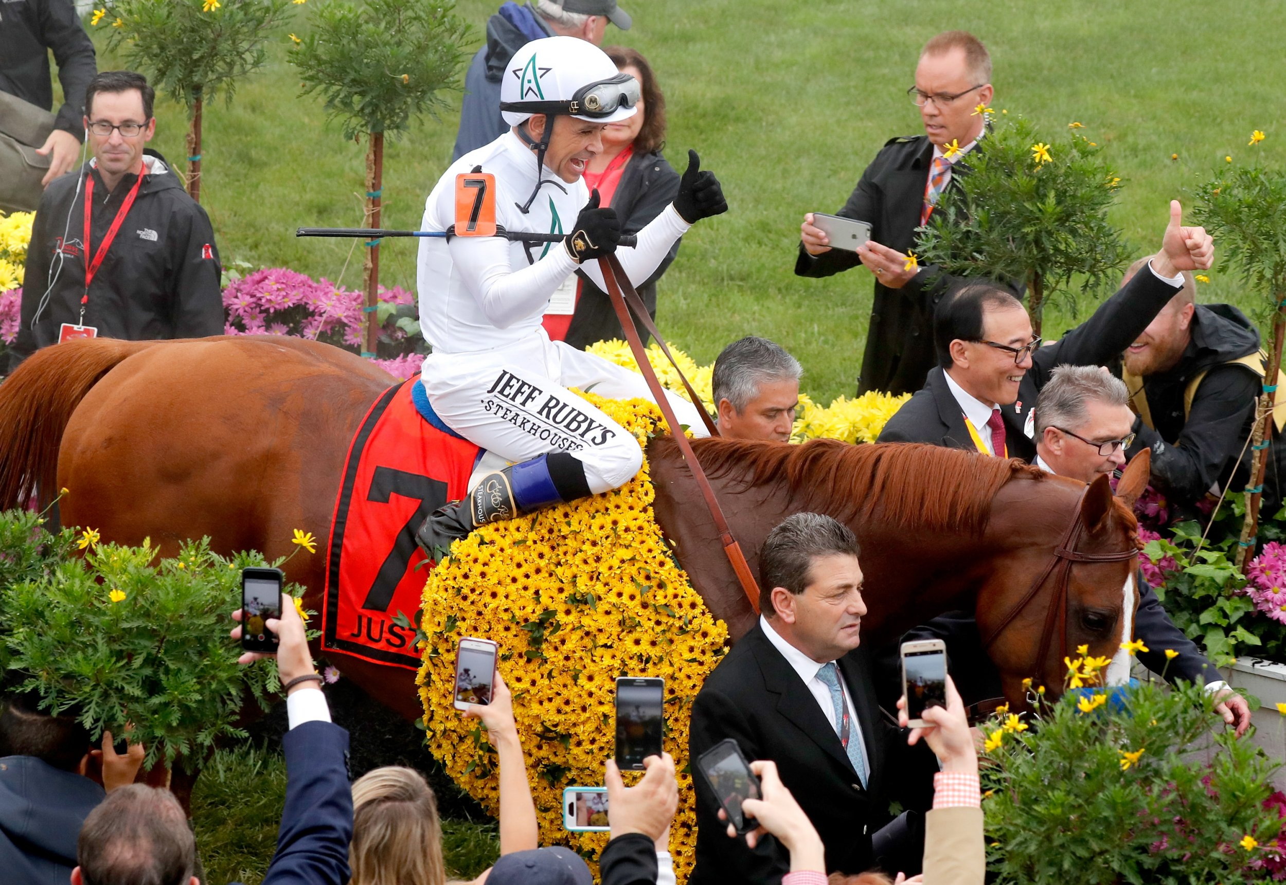 justify at preakness
