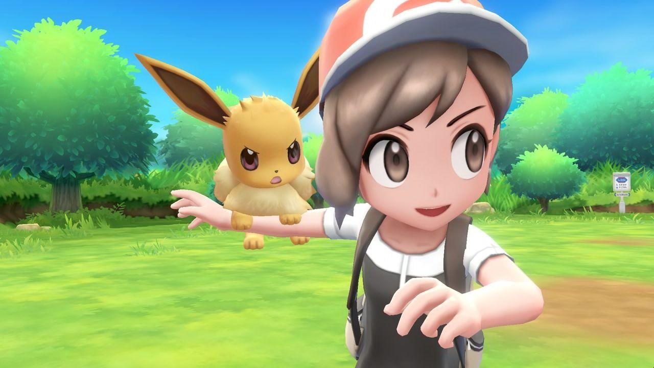 New 'Pokémon Let's Go Pikachu & Eevee' Trailer Shows More ...  New 'Pokémon...