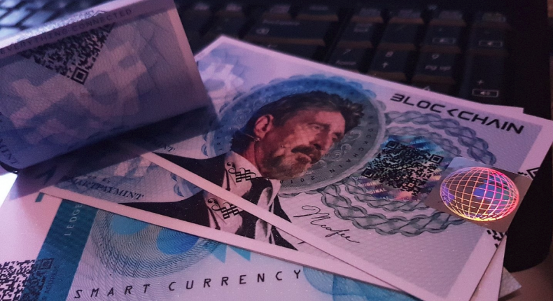 McAfee Bank Note