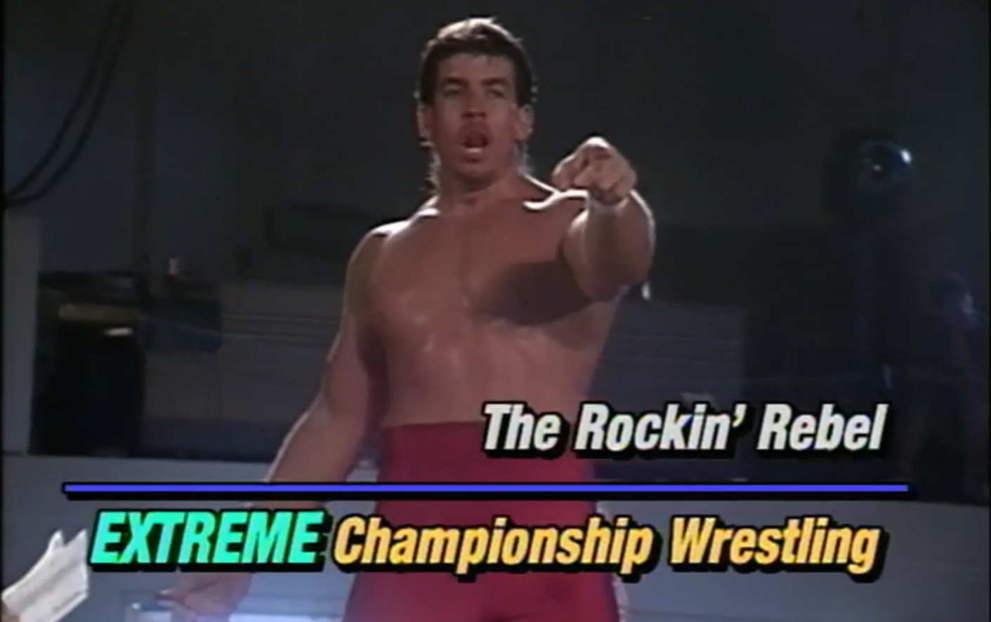Rockin' Rebel in early ECW.