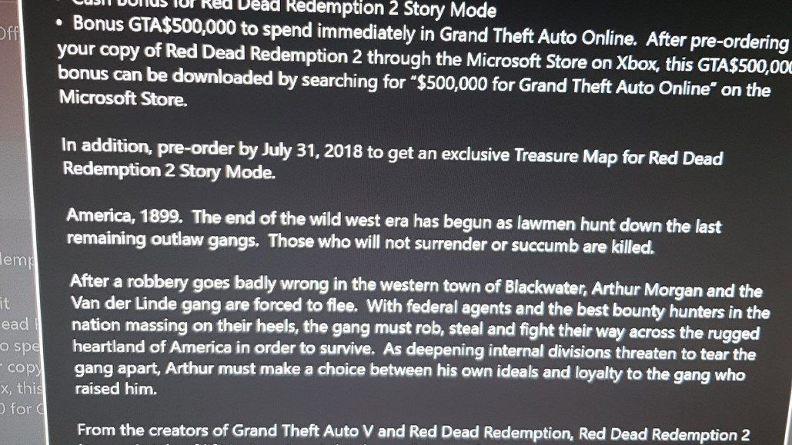 Red Dead Redemption 2' Pre-Order Rewards Leaked, Includes GTA$