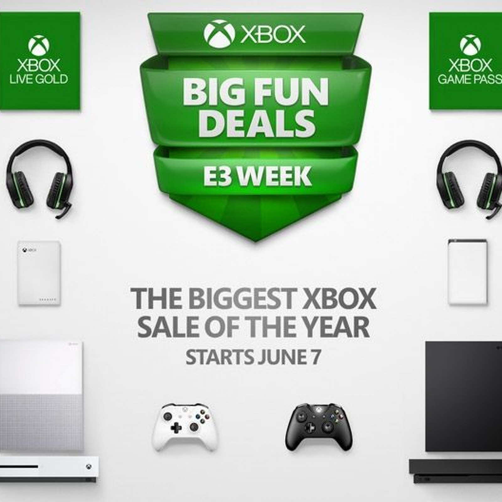 Xbox E3 2018 Sale Games Consoles And More On Sale