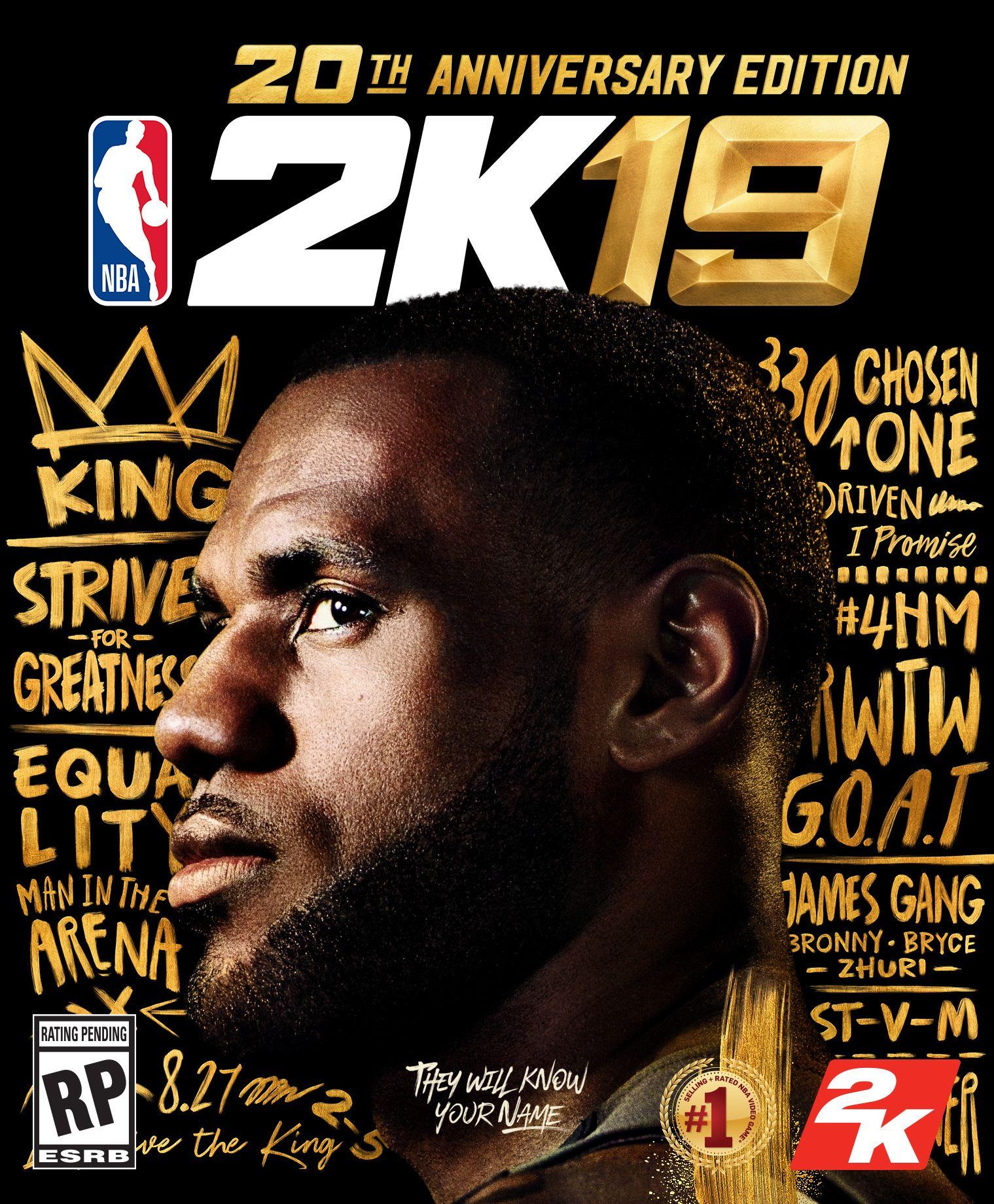 33916f708e63 NBA 2K19  Anniversary Edition Has LeBron on Cover