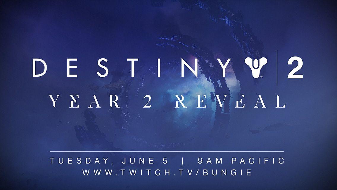 Destiny 2 Year 2 reveal blog