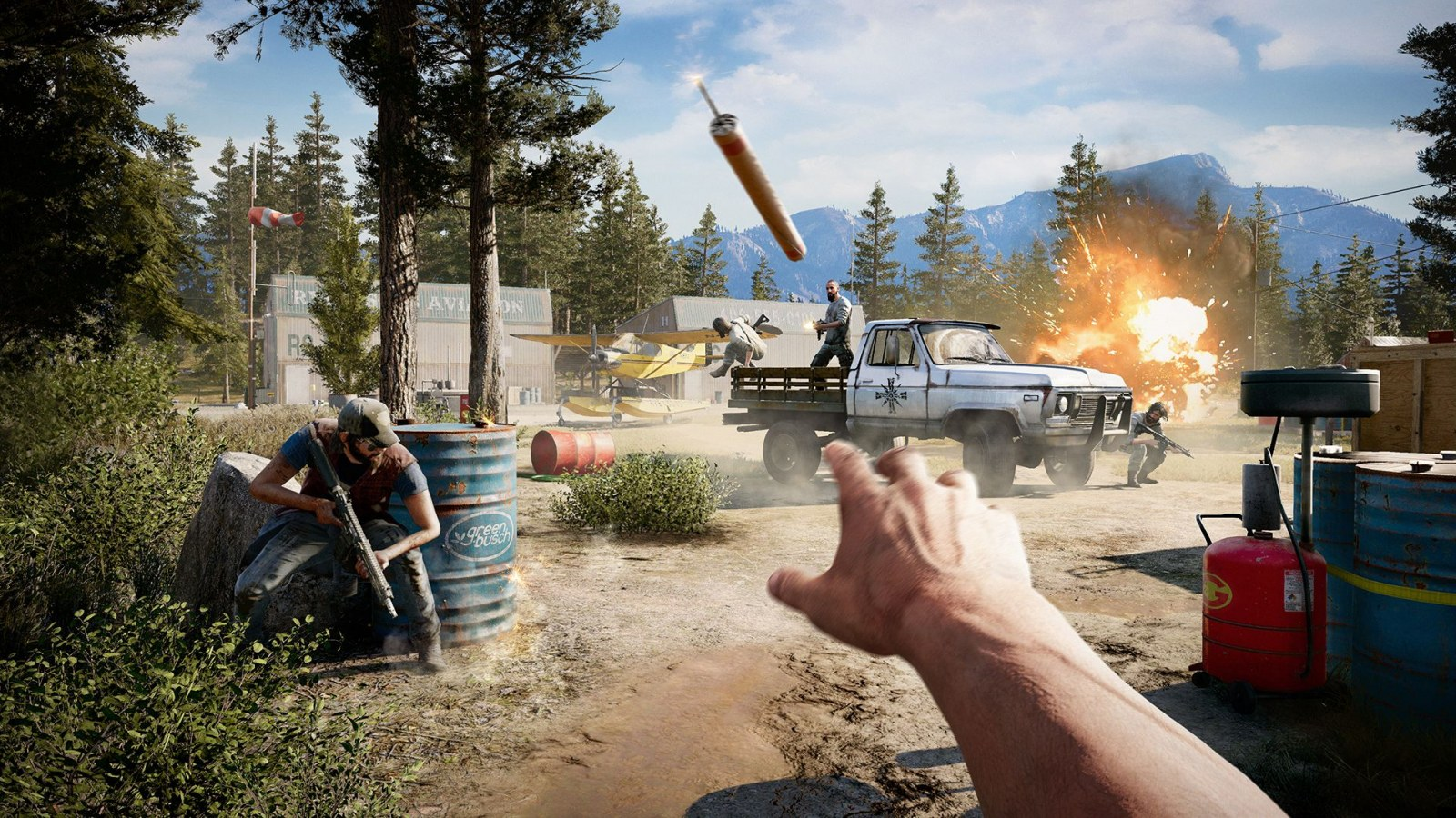 Far Cry 5 Explosion Hazard Live Event Guide How To Get The