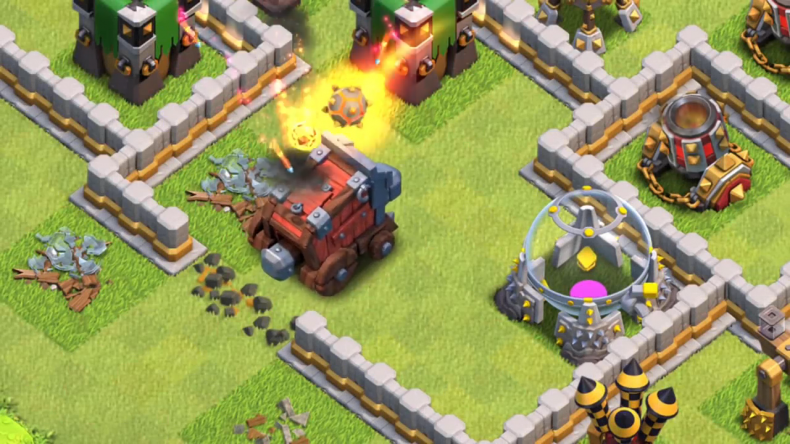 Clash of Clans wall wrecker