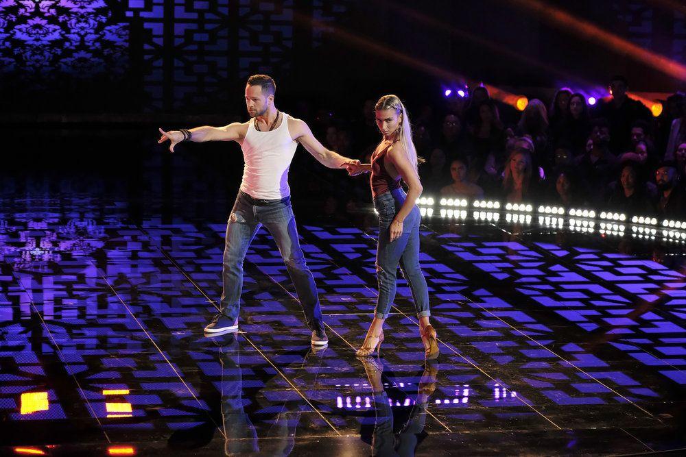 world of dance season 2 episode 2 Pasha and Daniella (Upper) Russian ballroom couple
