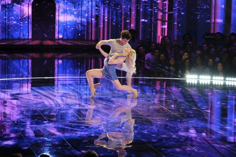 world of dance season 2 episode 2 recap dancers CharityandAndres (Junior) Utah contemporary