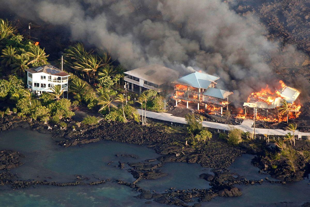 Hawaii Aerial Big Island