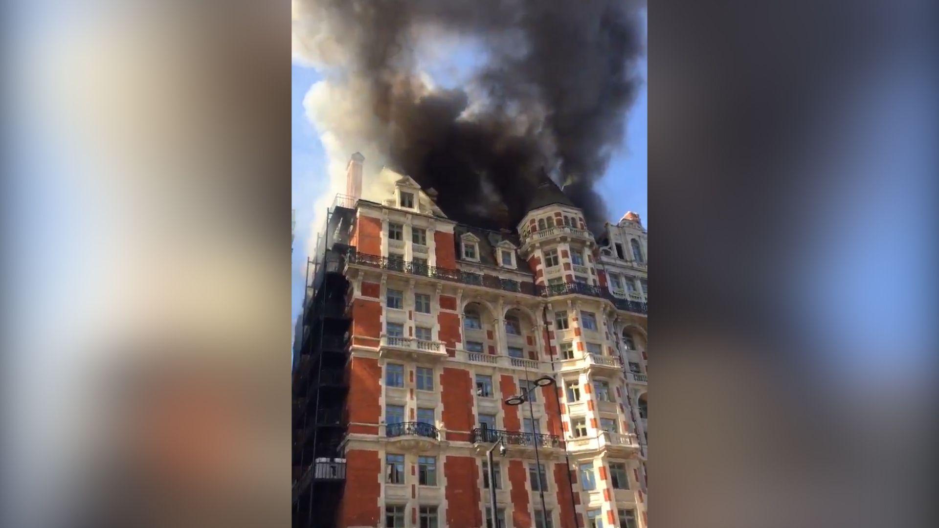 Mandarin Hotel Fire