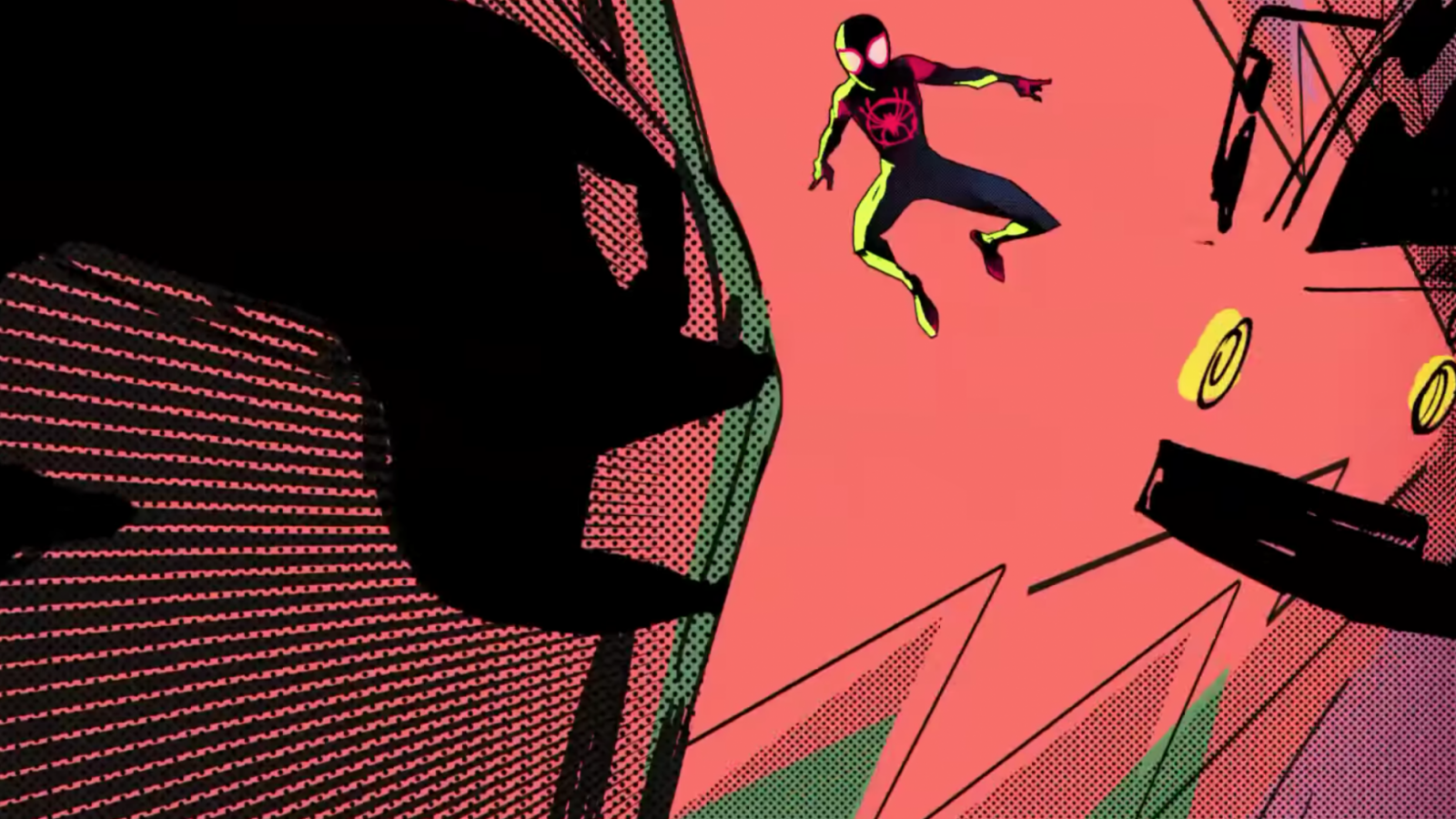 New Spider Man Into The Spider Verse Trailer Debuts Three