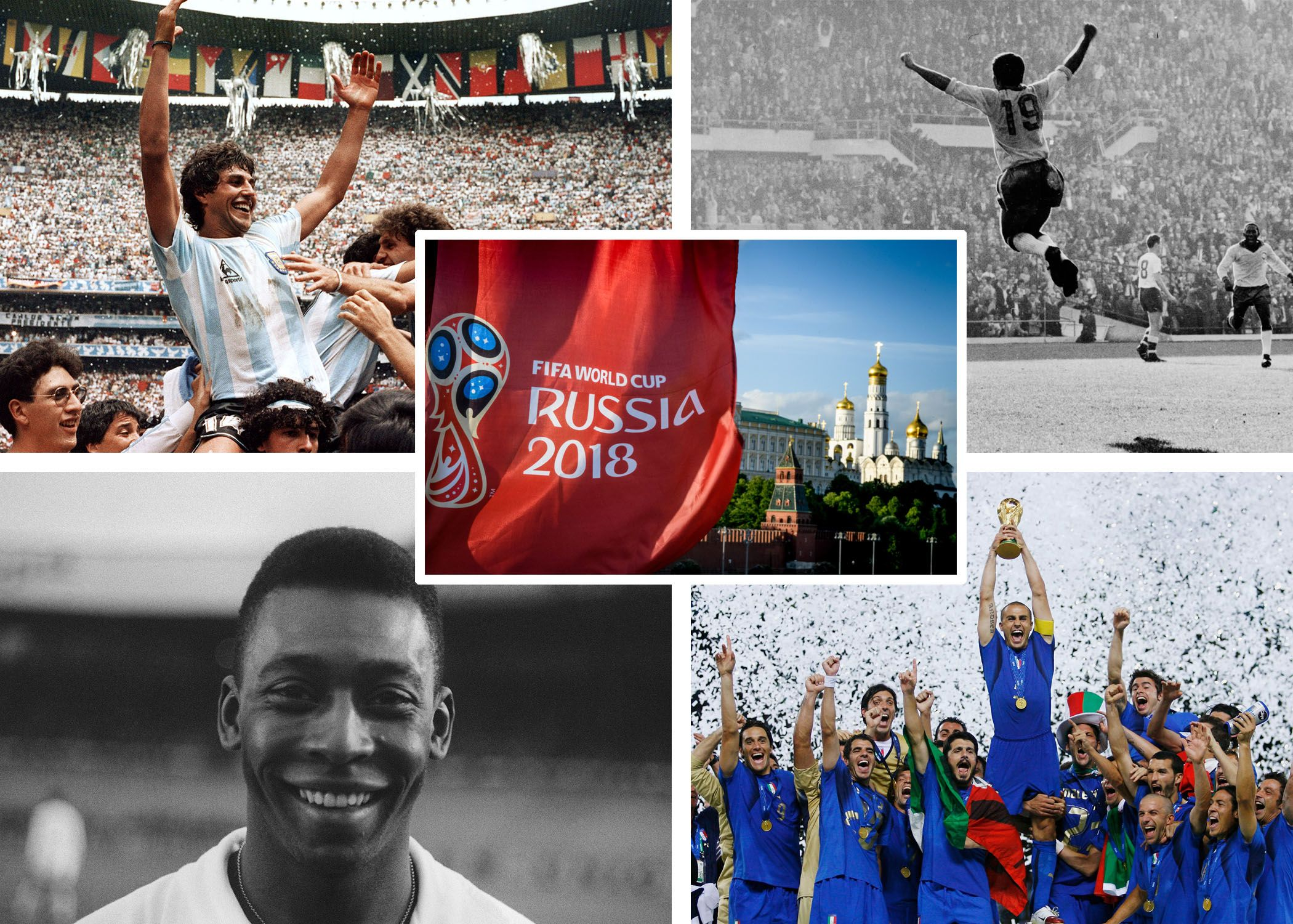 FIFA World Cup Winners: Every Men's Champion In Tournament History