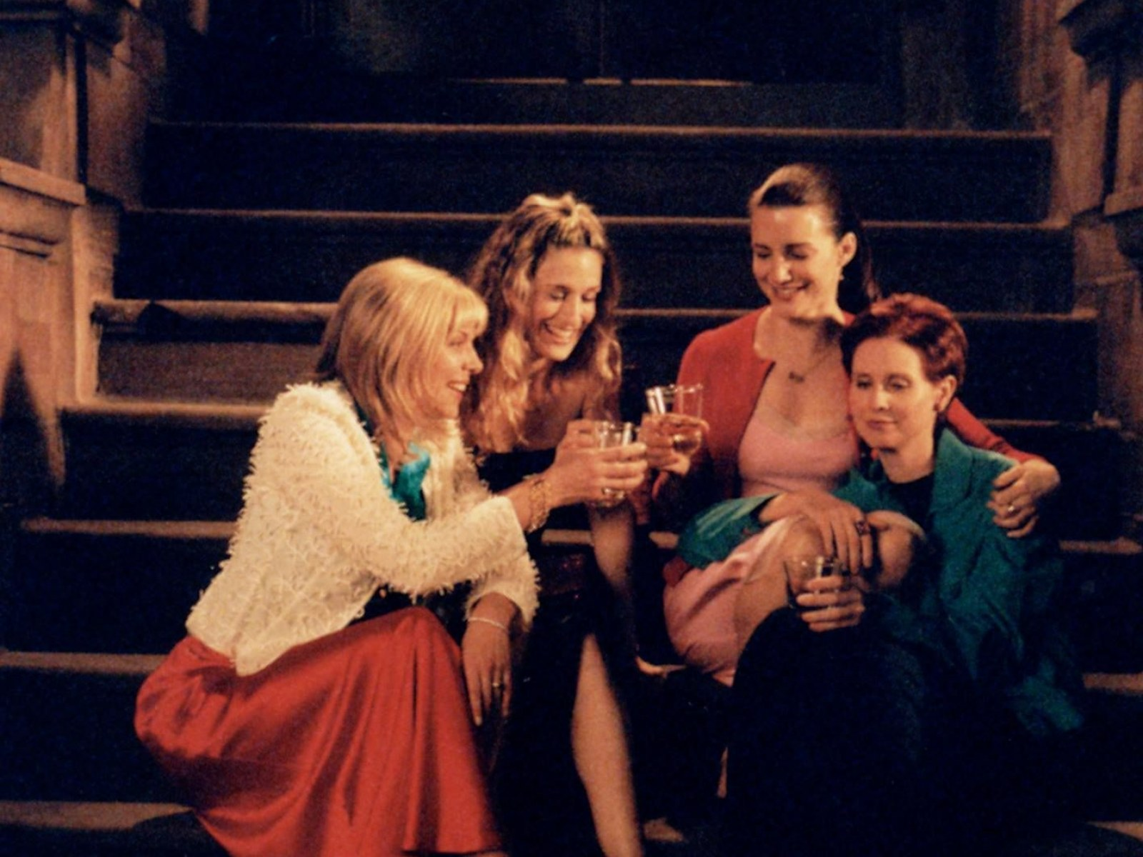 Image result for girls group talking sex in the city