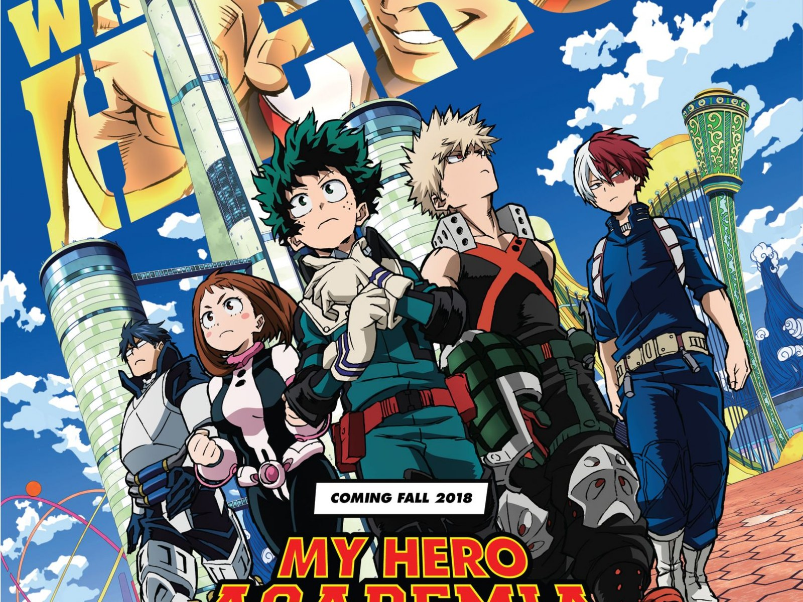 My Hero Academia Movie To Premiere At Anime Expo 2018