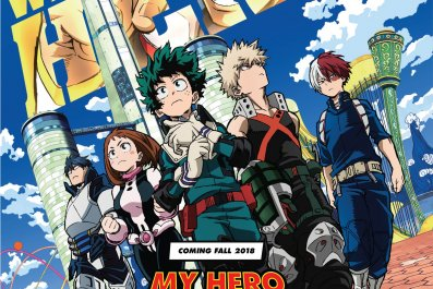 my hero academia movie two heroes poster