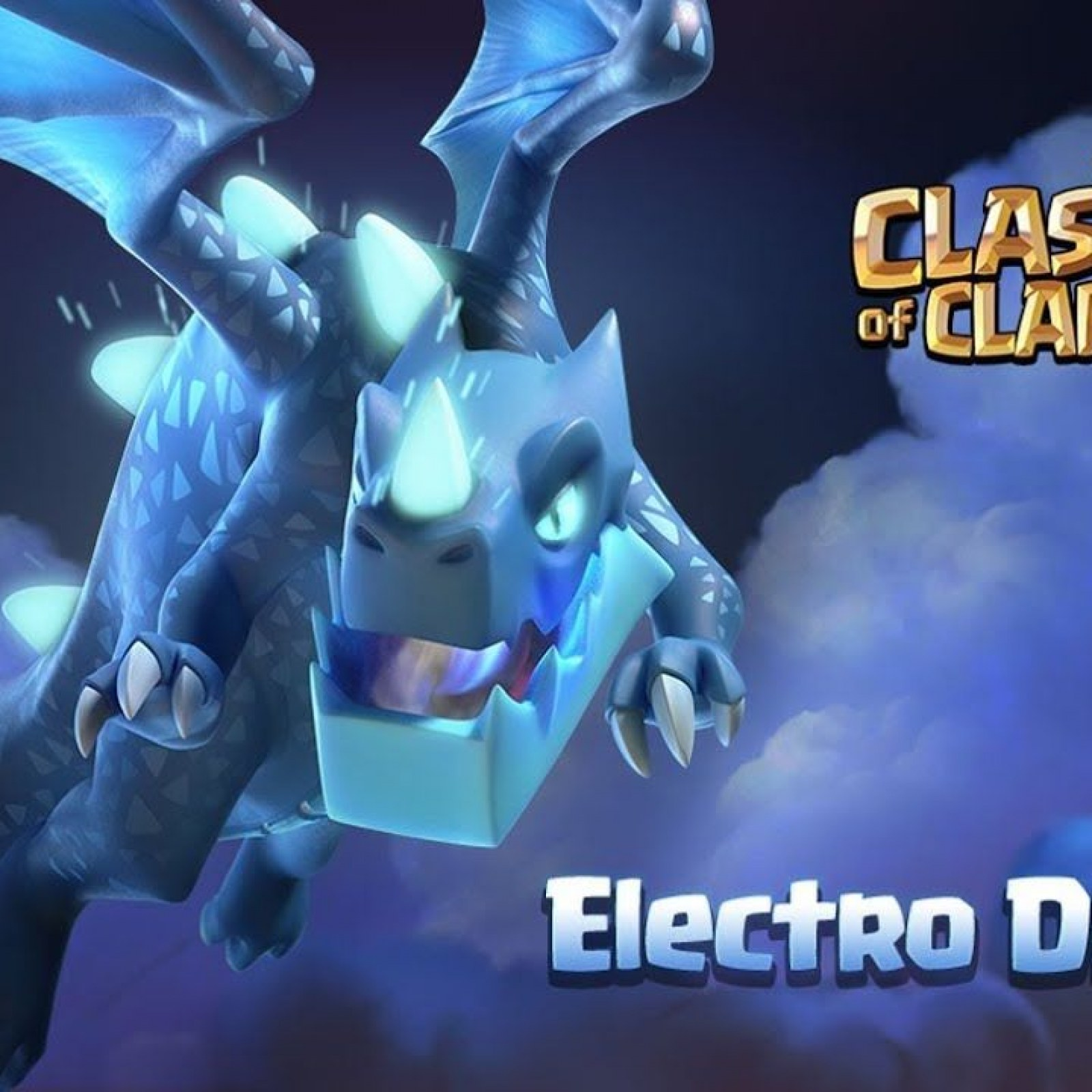 Clash of Clans' Electro Dragon Troop Revealed for Town Hall