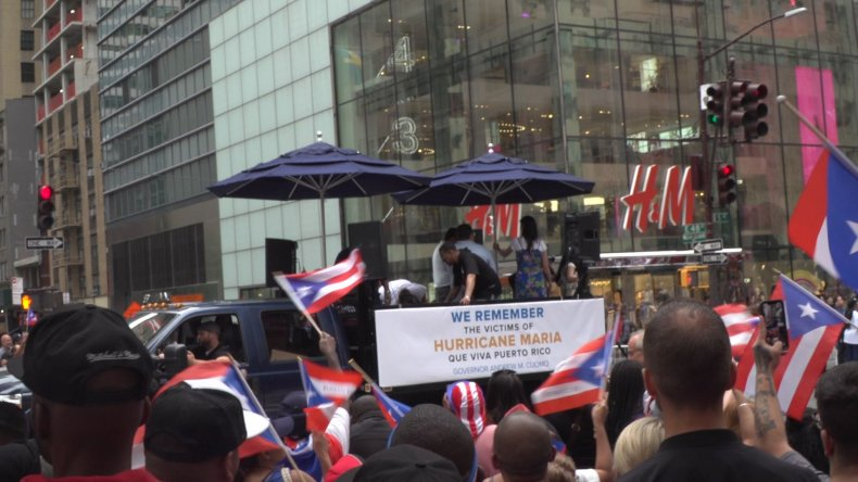 Remember Puerto Rico Victims Banner