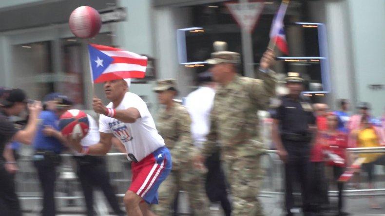 Puerto Rico Day Parade Marchers