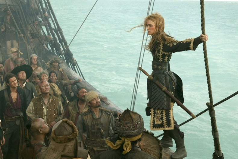 30 Pirates of the Caribbean- At World's End