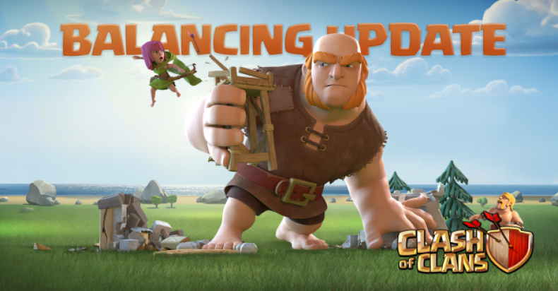 Clash of Clans balacing update