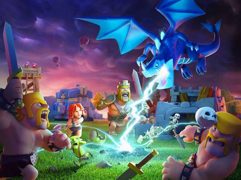 Clash of Clans Town Hall 12 art