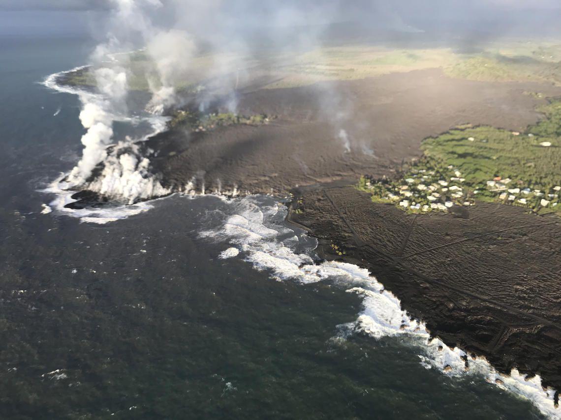 Hawaii Kilauea Volcano Update Explosion Usgs Says Lava