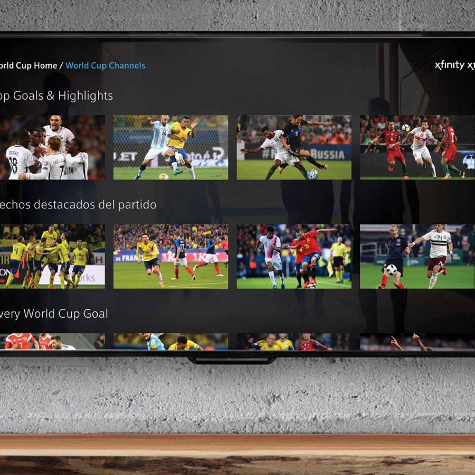 Xfinity Makes Watching the World Cup Easy