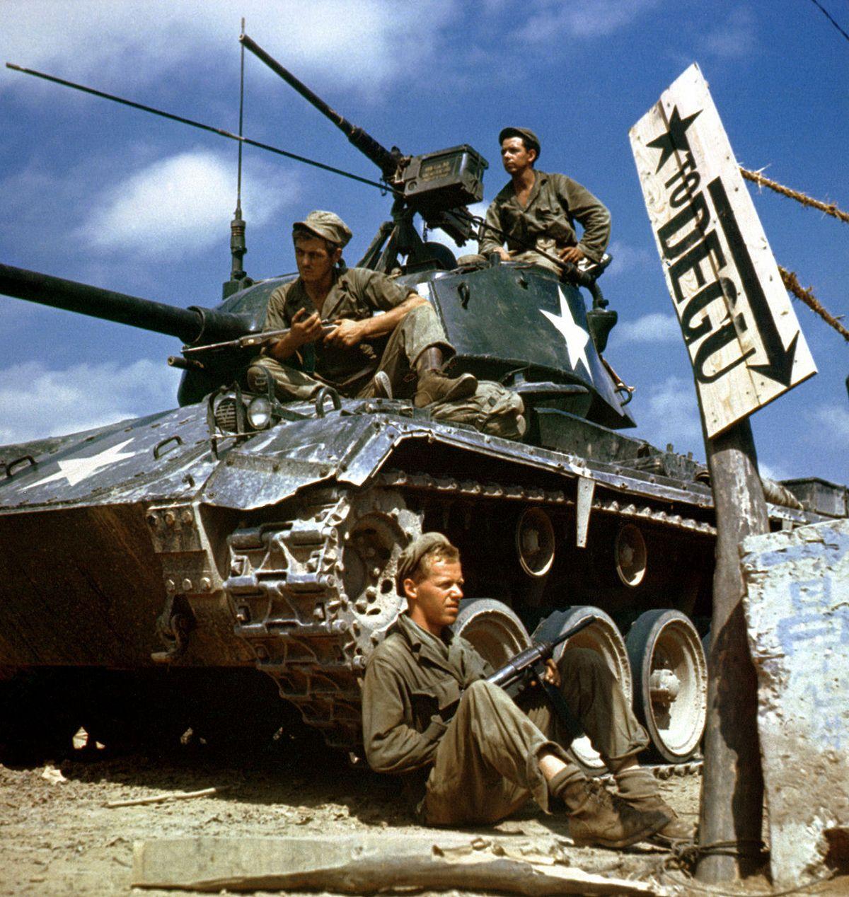1950 tank