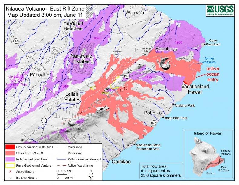 6_12_Kilauea Eruption Map