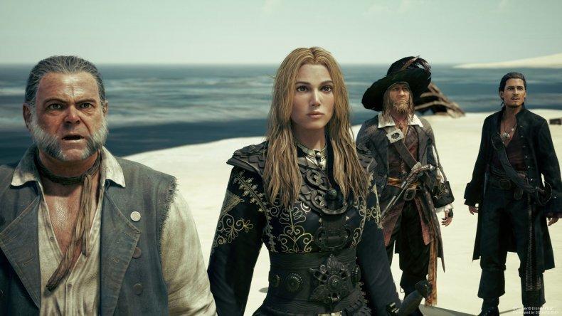 Kingdom Hearts 3 Pirates characters