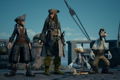 Kingdom Hearts 3 Pirates