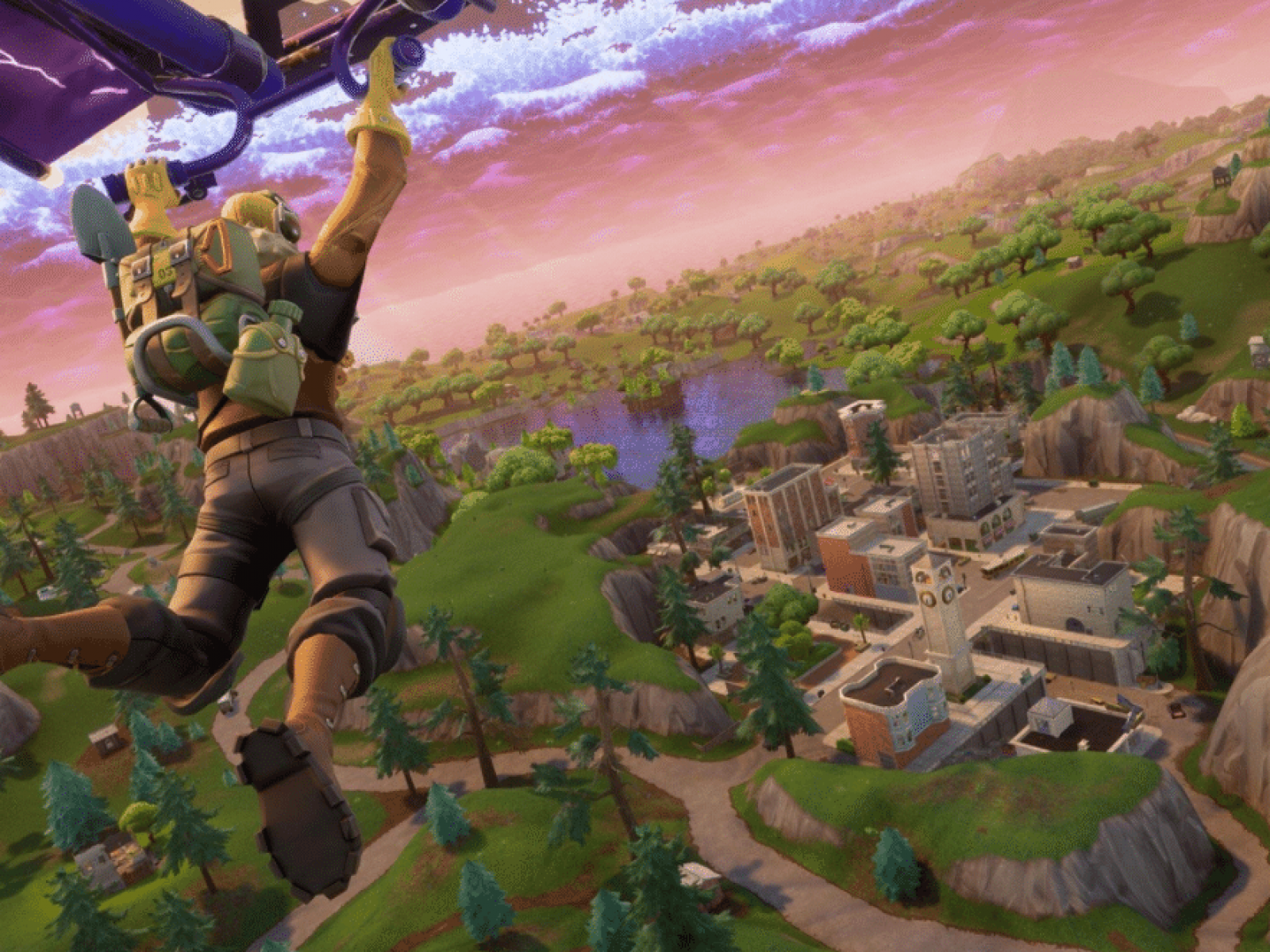 Fortnite' on Switch to Get Headset Voice Chat, Touch