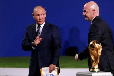 Putin Russia Fifa