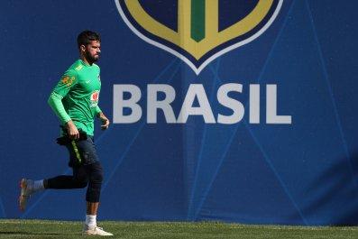 world cup favorites brazil