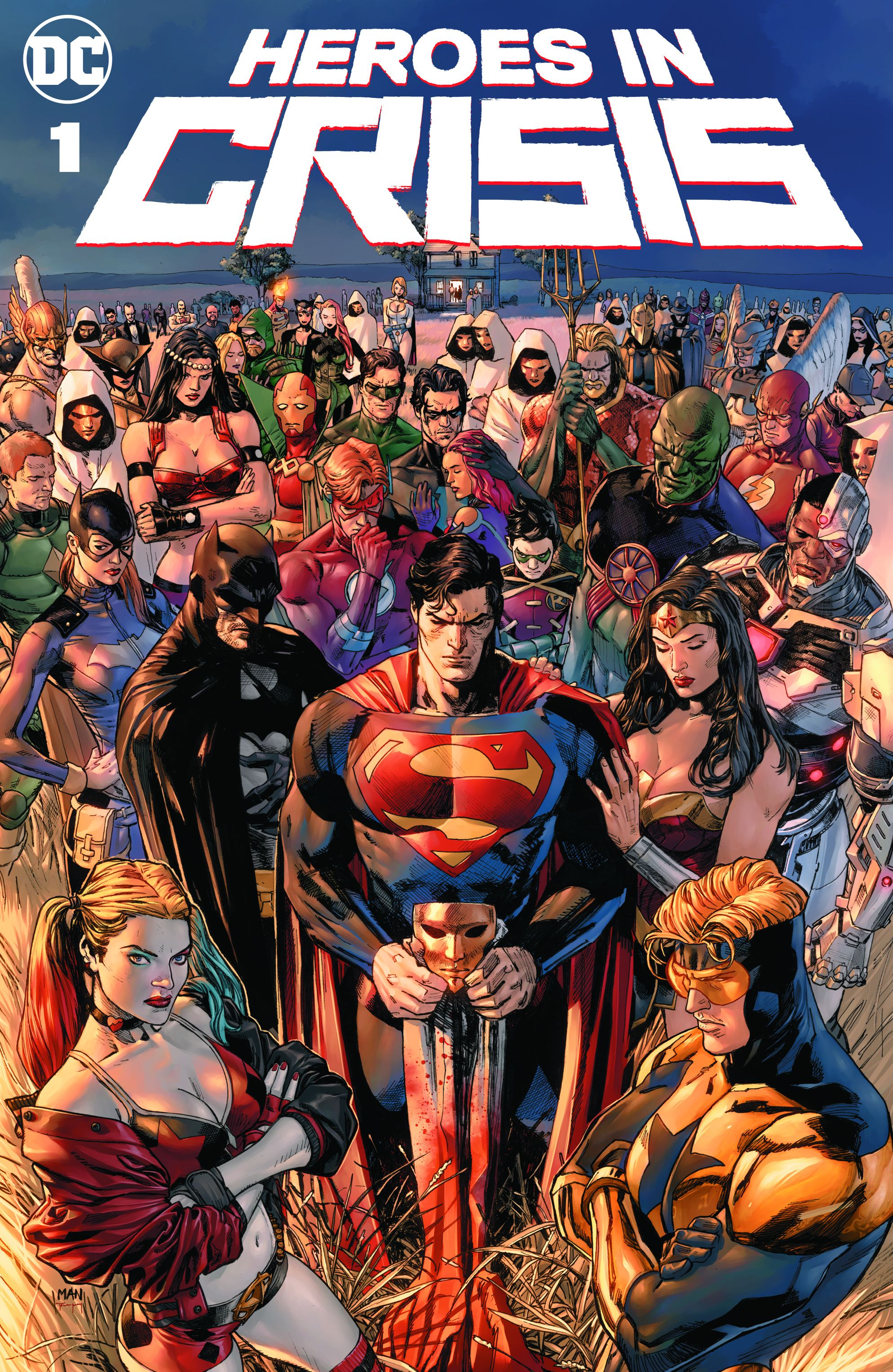 heroes in crisis tom king clay mann dc comics