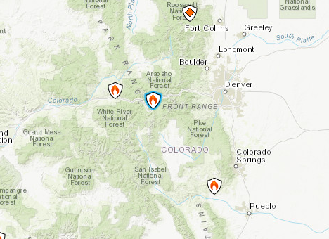 Buffalo Mountain Fire Map Update: Colorado Wildfire Forces Evacuations
