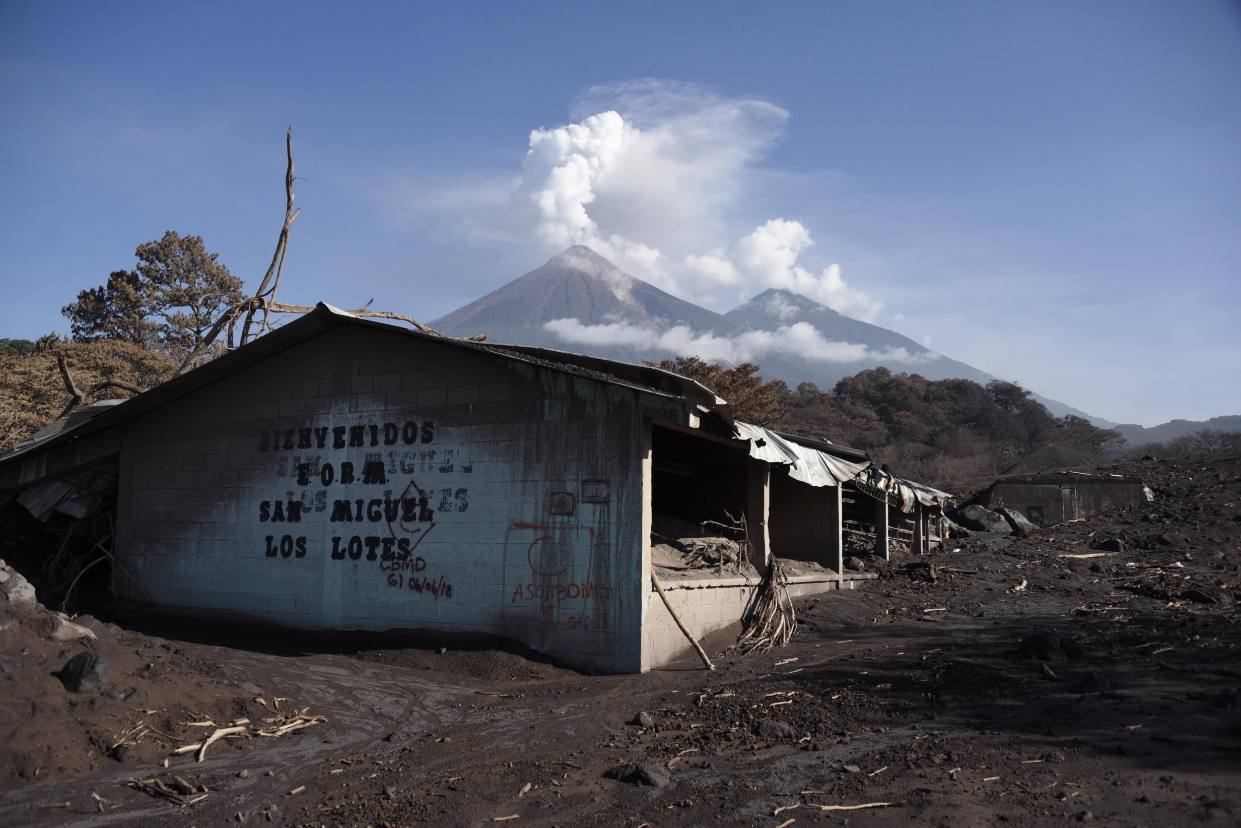 Hundreds of people are still missing after the deadly Guatemalan volcano eruption