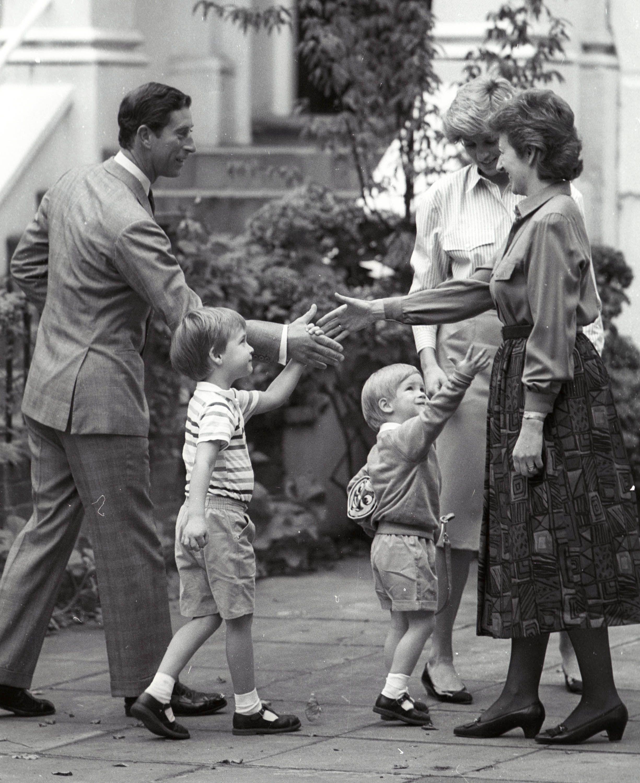Prince Charles, Prince Harry and William, Princess Diana