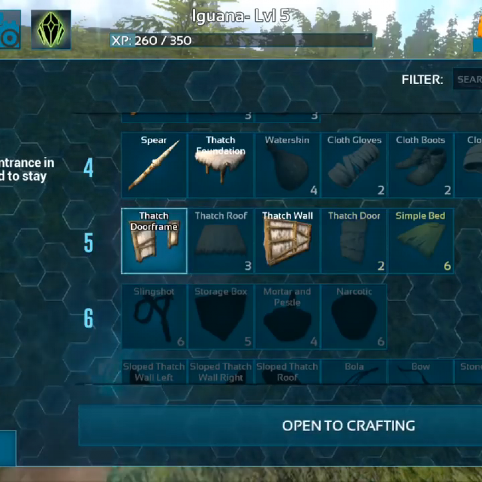 Ark Crafting Xp List