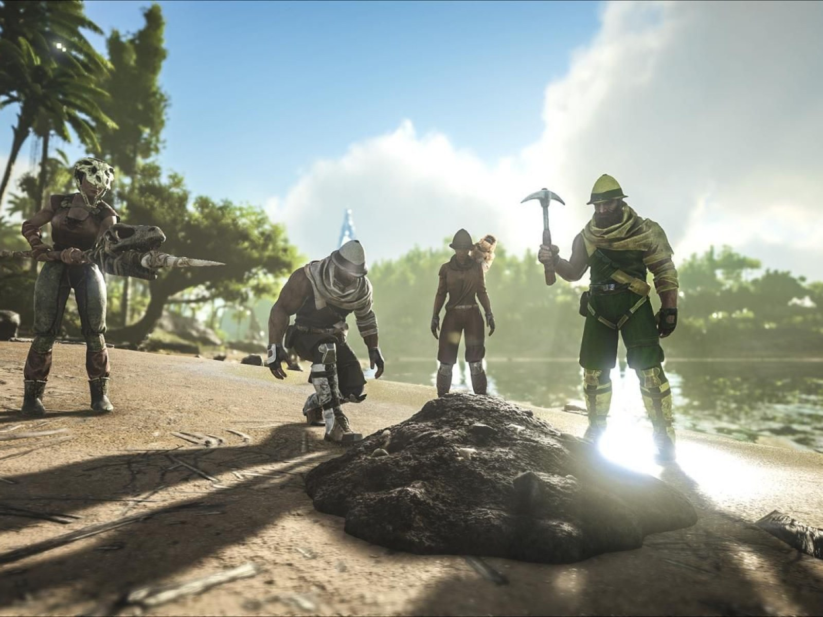 ARK' Update 1 69 Adds ARKaeology Event & Skins to PS4, Xbox