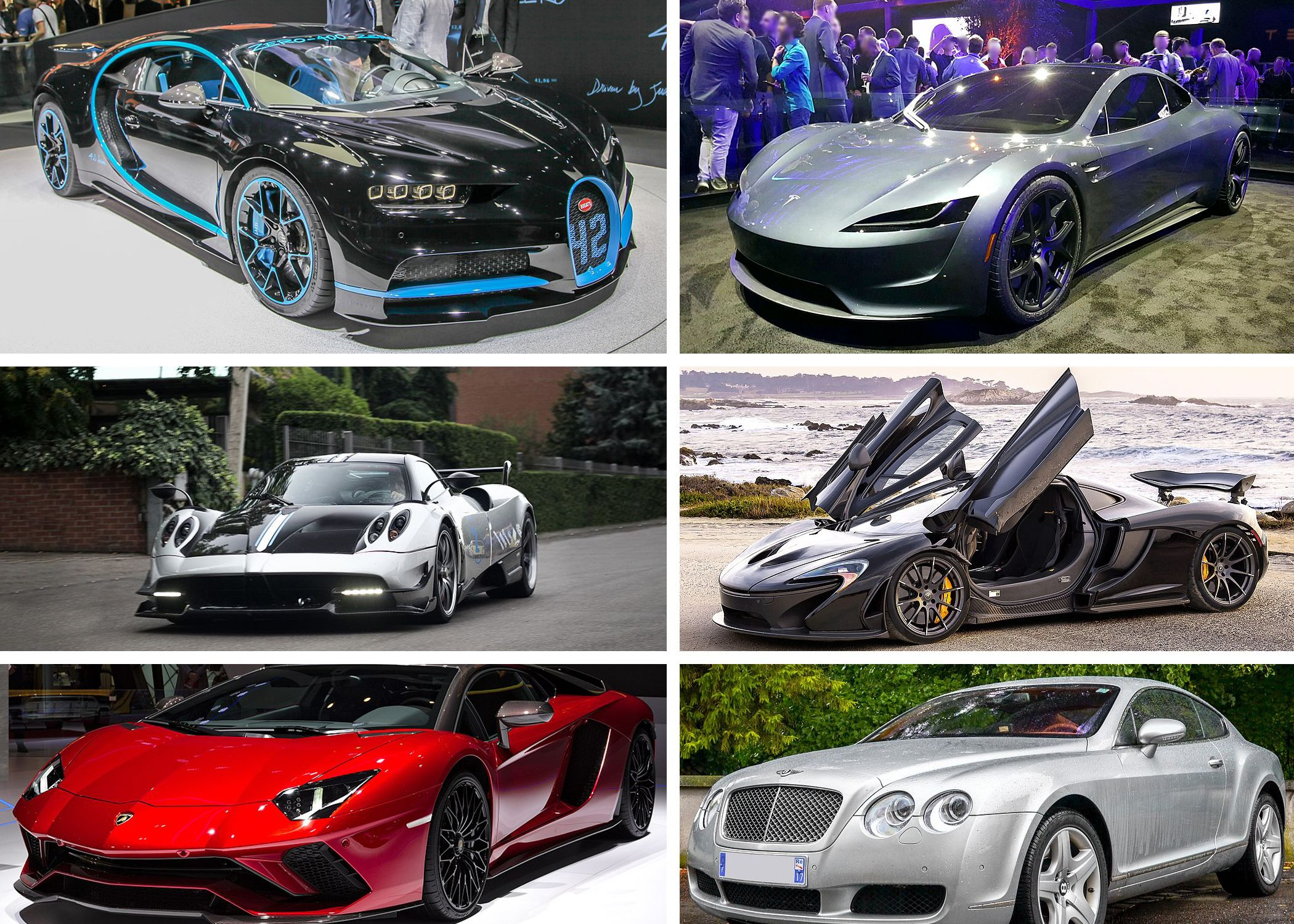 The Fastest Cars In The World From Tesla To Ferrari And More