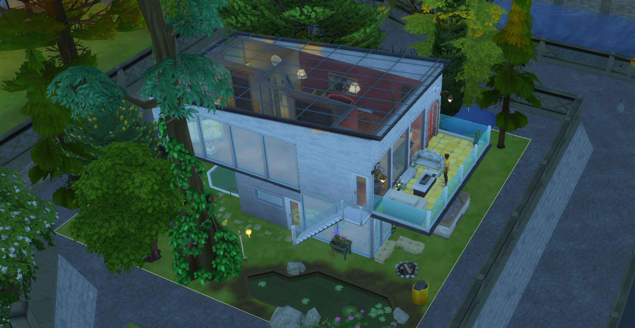 Sims 4' Update: June 'Seasons' Patch Brings Glass Roofs